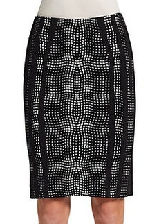 Diane von Furstenberg Panel Marta Pencil Skirt