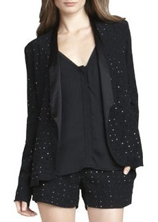 Diane von Furstenberg Paulette Hot-Fix Crystal Jacket