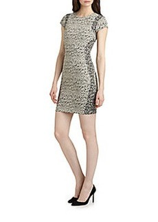 Diane von Furstenberg Pele Snake-Wave Dress