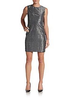 Diane von Furstenberg Pentra Alligator Jacquard Dress