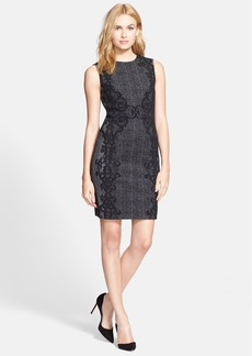 Diane von Furstenberg 'Pentra' Tweed Sheath Dress
