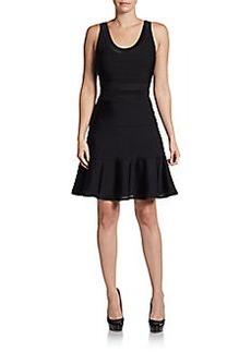 Diane von Furstenberg Perry Flared Knit Dress