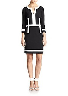 Diane von Furstenberg Petra Striped Shift Dress