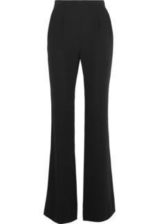 Diane von Furstenberg Petunia crepe wide-leg pants
