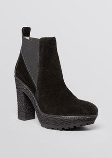 DIANE von FURSTENBERG Platform Booties - Paisley High Heel