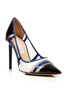 DIANE von FURSTENBERG Pointed Toe Pump - Becca High Heel