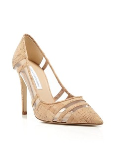 DIANE von FURSTENBERG Pointed Toe Pump - Becca High Heel