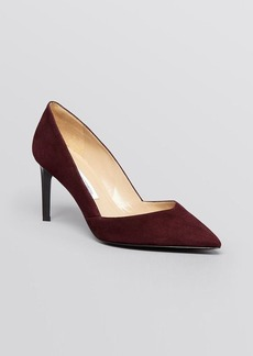 DIANE von FURSTENBERG Pointed Toe Pumps - Hilda High Heel