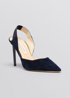 DIANE von FURSTENBERG Pointed Toe Slingback Pumps - Blaire High Heel
