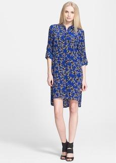 Diane von Furstenberg 'Prita' Print Silk Shirtdress