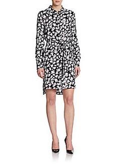 Diane von Furstenberg Prita Printed Silk Shirtdress