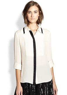 Diane von Furstenberg Quiana Silk Shirt