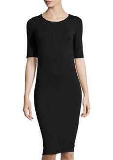 Diane von Furstenberg Raquel Jersey Dress, Black