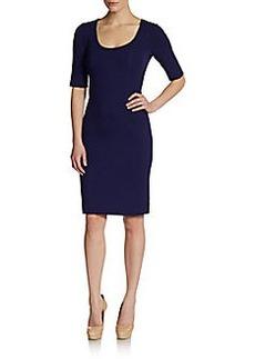 Diane von Furstenberg Raquel Scoopneck Dress