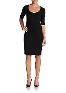 Diane von Furstenberg Raquel Scoopneck Jersey Dress