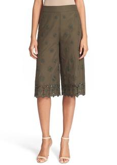 Diane von Furstenberg 'Ravi' Embroidered Culottes