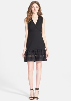 Diane von Furstenberg 'Rayan Two' Ruffle Hem Sheath Dress
