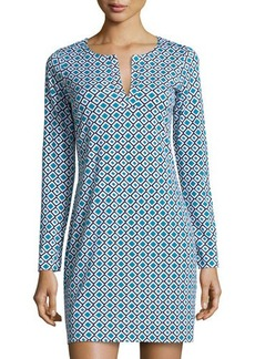 Diane von Furstenberg Reina Check Shift Dress