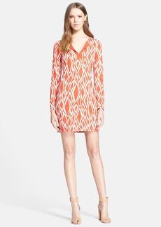 Diane von Furstenberg 'Reina' Print Silk Jersey Sheath Dress