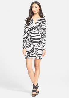 Diane von Furstenberg 'Reina' Print Silk Shift Dress (Nordstrom Exclusive)