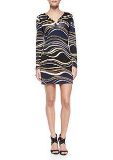 Diane von Furstenberg Reina Printed Silk Dress