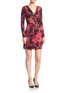 Diane von Furstenberg Reina Printed Silk Dress