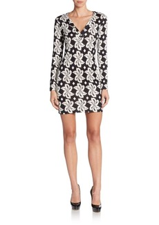 Diane von Furstenberg Reina Silk Jersey Dress