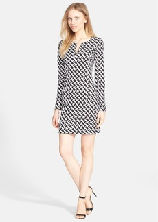Diane von Furstenberg 'Reina' Silk Shift Dress