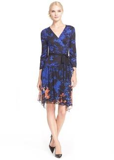 Diane von Furstenberg 'Riviera' Drop Waist Print Dress