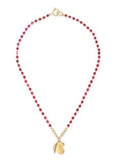 Diane von Furstenberg Rosale Long Beaded Charm Necklace