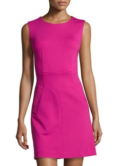 Diane von Furstenberg Round-Neck Mini Dress