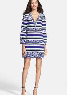 Diane von Furstenberg 'Ruby' Print Silk Shift Dress