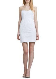 Diane von Furstenberg Sahara Strapless Ring Eyelet Dress