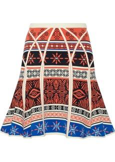 Diane von Furstenberg Samara jacquard-knit skirt
