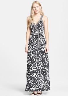 Diane von Furstenberg 'Samson' Floral Print Silk Dress