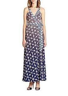 Diane von Furstenberg Samson Jersey Maxi Dress