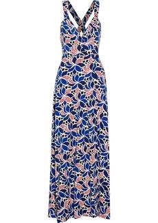 Diane von Furstenberg Samson printed stretch-jersey wrap dress