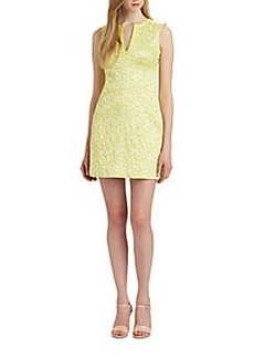 Diane von Furstenberg Sandine Jacquard Sheath Dress