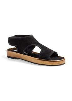 Diane von Furstenberg 'Santa Fe' Suede Slip-On Sandal (Women)
