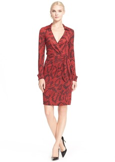 Diane von Furstenberg 'Savannah' Snake Print Wrap Dress