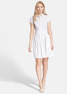Diane von Furstenberg 'Scarlet' Cotton Shirtdress