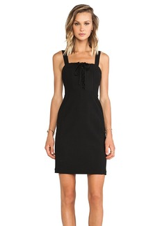 Diane von Furstenberg Scottland Dress in Black
