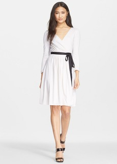 Diane von Furstenberg 'Seduction' Wool Wrap Dress