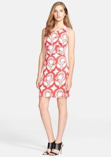 Diane von Furstenberg 'Selene' Print Silk Sheath Dress