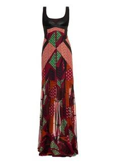 Diane Von Furstenberg Serena gown