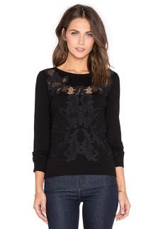 Diane von Furstenberg Shana Lace Sweater
