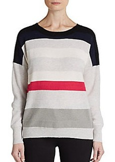 Diane von Furstenberg Shell Stripe Cashmere Sweater