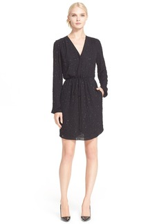 Diane von Furstenberg 'Shirley' Embellished Silk Dress