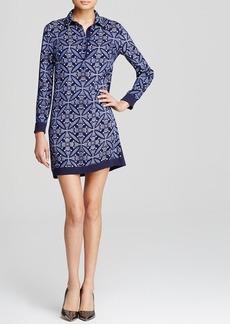 DIANE von FURSTENBERG Shirt Dress - Sorrel Floral Print