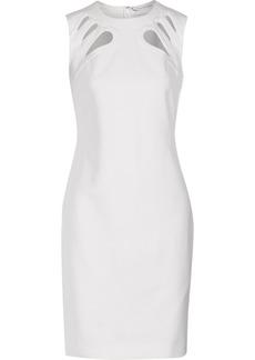 Diane von Furstenberg Sidra cutout stretch-ponte dress